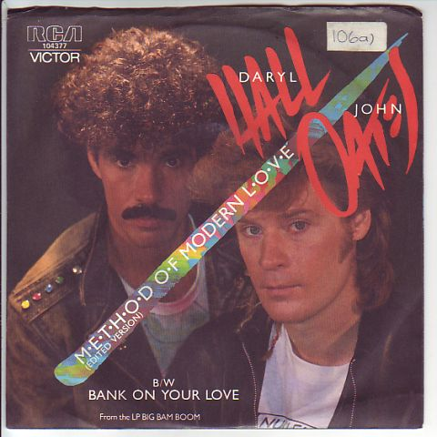 Hall, Daryl & Oates, John - Method of Modern Love / Bank on Your Love