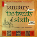 Crawford, Hector -and his Orchestra - January the Twenty Sixth