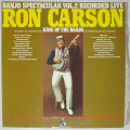 Carson, Ron - Banjo Spectacular Volume 2 Recorded Live
